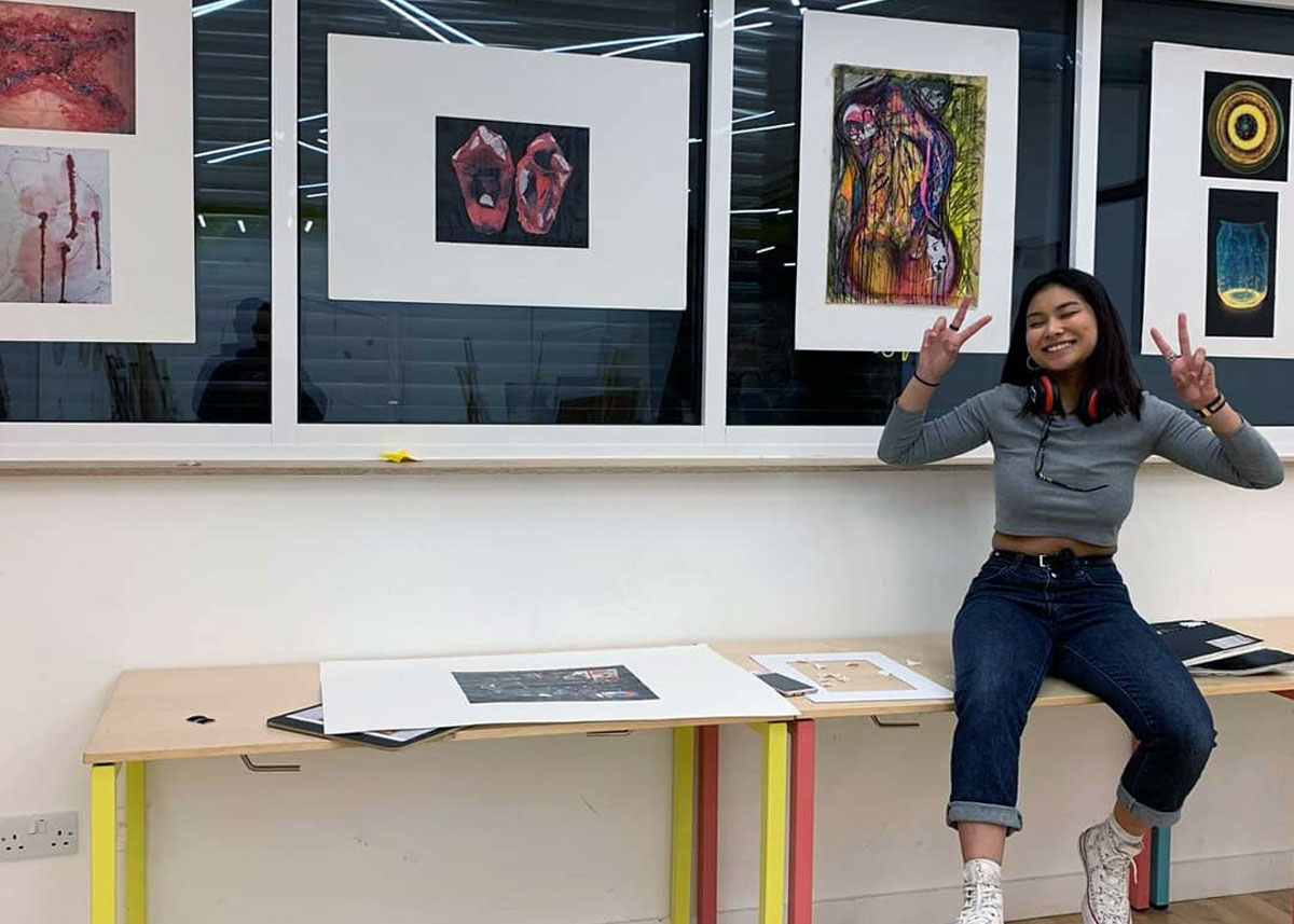 Art Exhibitions by young people at Soapbox Islington